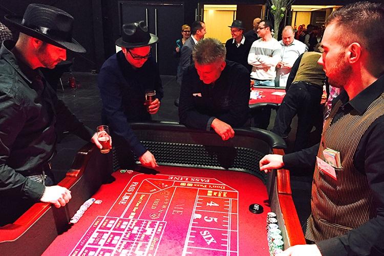 Crazzle Casino Events - Craps - Casinotafels