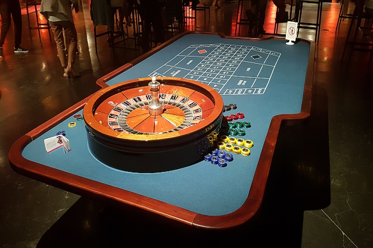 Crazzle Casino Events - American Roulette - Casinotafels