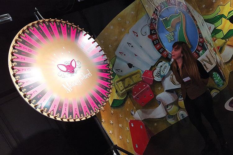 Crazzle Casino Events - Money Wheel - Casinotafels