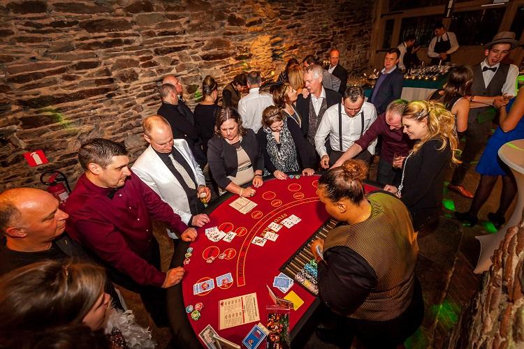 Crazzle Casino Events - Stud Poker - Casinotafels