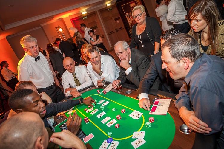 Crazzle Casino Events - Texas Hold'em Poker - Casinotafels